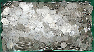 1-1892-1916-Barber-90-Silver-Quarter-25c-Coin-Circulated-from-Mixed-Lot