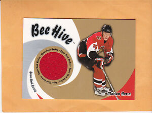2003-04-BEE-HIVE-MARIAN-HOSSA-GAME-USED-JERSEY-GJ-33-OTTAWA-SENATORS