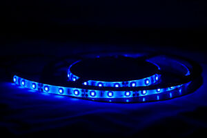 LED-Barco-LAMPARA-CARAVANA-Tira-Flexible-Impermeable-130cm-Azul-LEDs