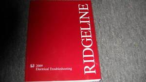 2009 HONDA RIDGELINE TRUCK Electrical Wiring Diagram ...