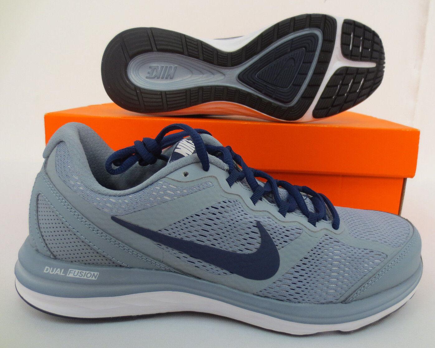 Nike doppelten fusion run 3 männer größe 7,5 schuhe 653596 009 casual training laufen neue