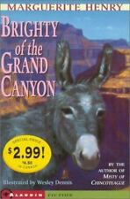 Kids' Picks Ser.: Brighty : Of the Grand Canyon by Marguerite Henry (2001, Trade Paperback)