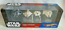 Hot Wheels Star Wars Hero Starship 4-Pack DGN54