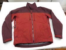 Great Arcteryx Mens Red Shell Guide Hiking Rain Spring Jacket Coat Sz M