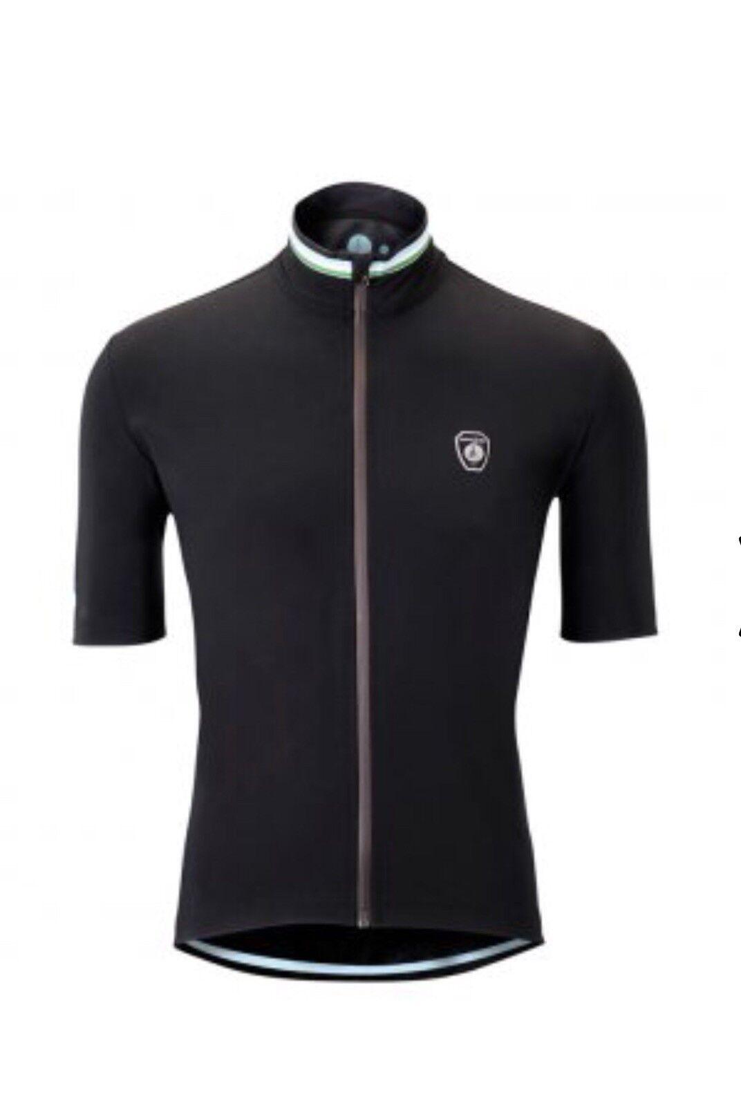 Cafe Du Cycliste Men's Waterproof Josette Jersey   Size XS  unique shape