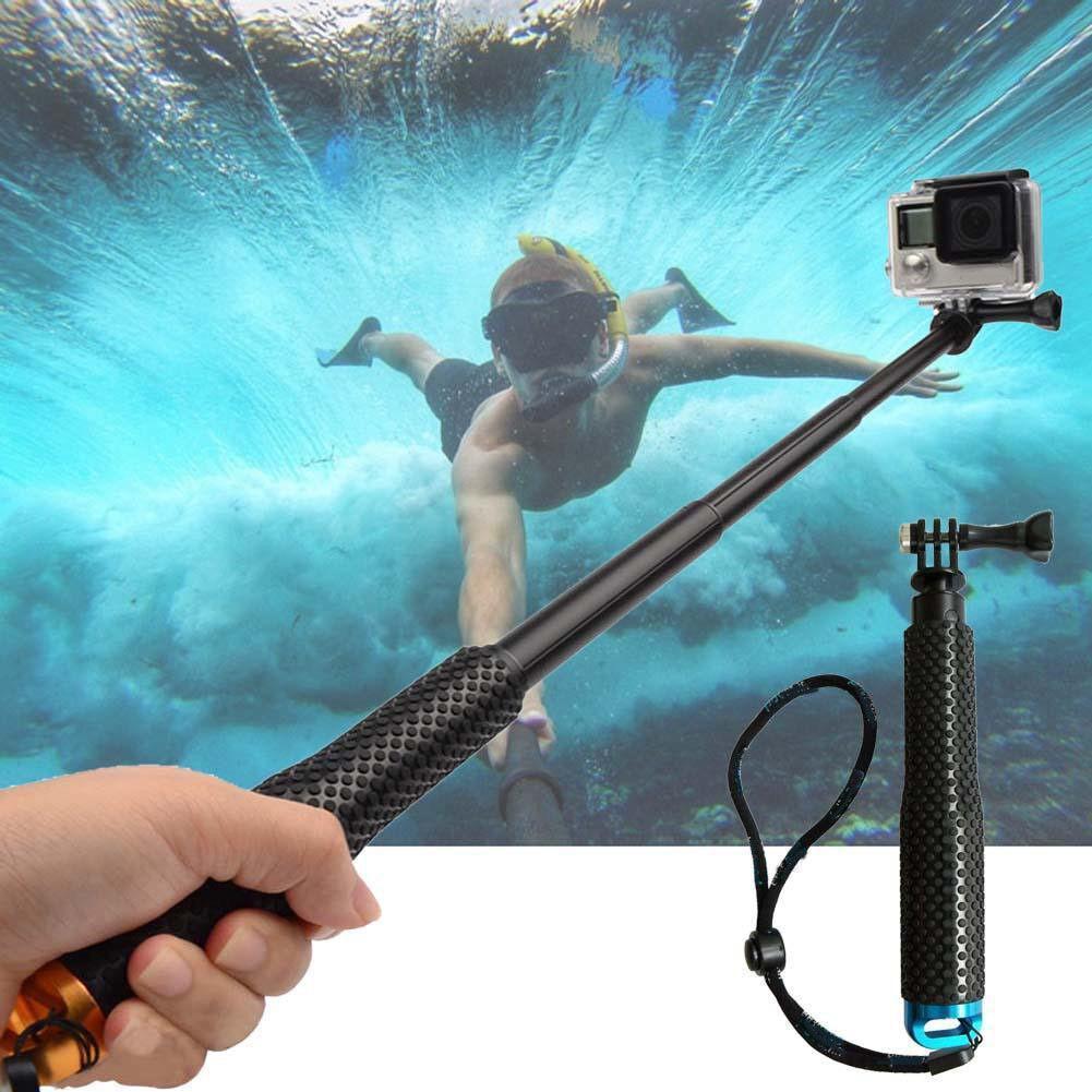 """37""""Waterproof Extension Pole Selfie Stick for Gopro hero HD 5 4 3+ 3 SJCAM EKEN 3"""