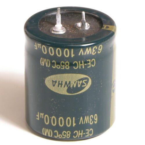 4700UF en 80V y 100V 100/% STOCK Reino Unido Samwha condensadores electrolíticos 10000UF