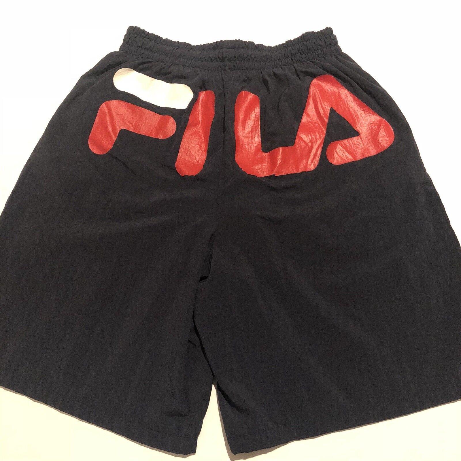 6cf388d271 Vintage Men's FILA Spellout Swim Trunks Shorts Beach RARE Medium Board  nnpxaa4183-Swimwear