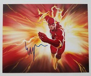 Ezra-Miller-Signed-The-Flash-8x10-Photo-Justice-League-JLA-DC-Comics-LEGEND-RAD