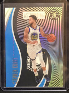 2019-20 Illusions STEPH CURRY Blue Sapphire Astounding, Acetate, GS Warriors