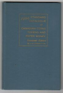 CHARLTON-STD-CANADIAN-COINS-1966-14TH-EDITION