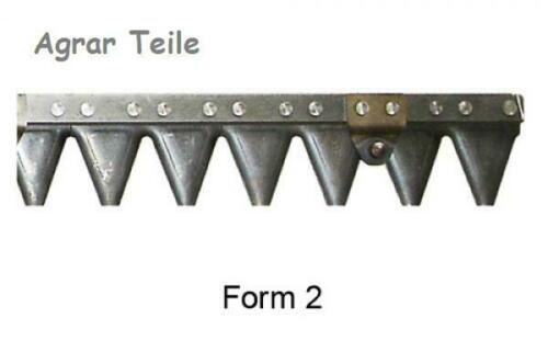 Mähmesser 142 cm Köppl Obermesser mit 28 Klingen Motormäher