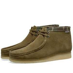 Details zu Clarks Originals X Carhartt Wallabee Boot Olive Grün Camo Schuh