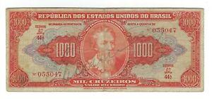 1000-Cruzeiros-Bresil-1949-c104-p-149-Brazil-billet-SCARCE