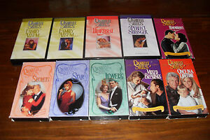 Lot-of-VHS-Romance-DANIELLE-STEEL-Jewels-Star-Secret-PLUS-MORE-Free-s-h-Canada