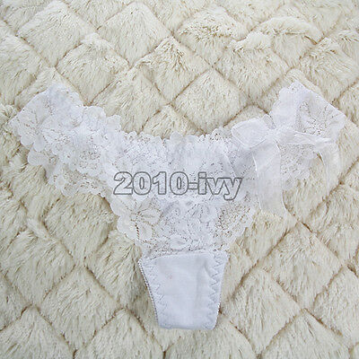 Women's Sexy Lace Thongs G-string V-string Panties Knickers Lingerie Underwear