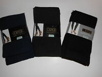 Womens Tights Luxe Fleece Lined Footed Or Footless Various Colors And Sizes