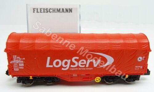 Fleischmann N aus 931483 Schiebeplanenwagen Shimms LogServ OVP N131