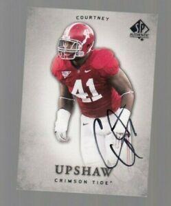 Courtney-Upshaw-2012-Upper-Deck-SP-Authentic-Autograph-ON-CARD-Crimson-Tide