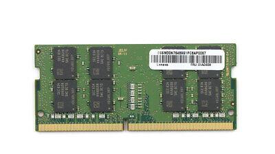 16GB DDR4 2666MHz PC4-21300 SODIMM Memory RAM Lenovo 01AG838 Equivalent