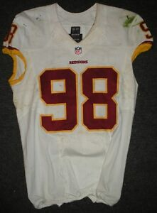 2013 Brian Orakpo Washington Redskins Game Used Worn Nike Football ... 1e16f76dcd9