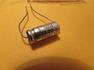 12V USA 100uF 100uF 1 Piece 12DC Sprague 30D USA Axial Capacitor NOS