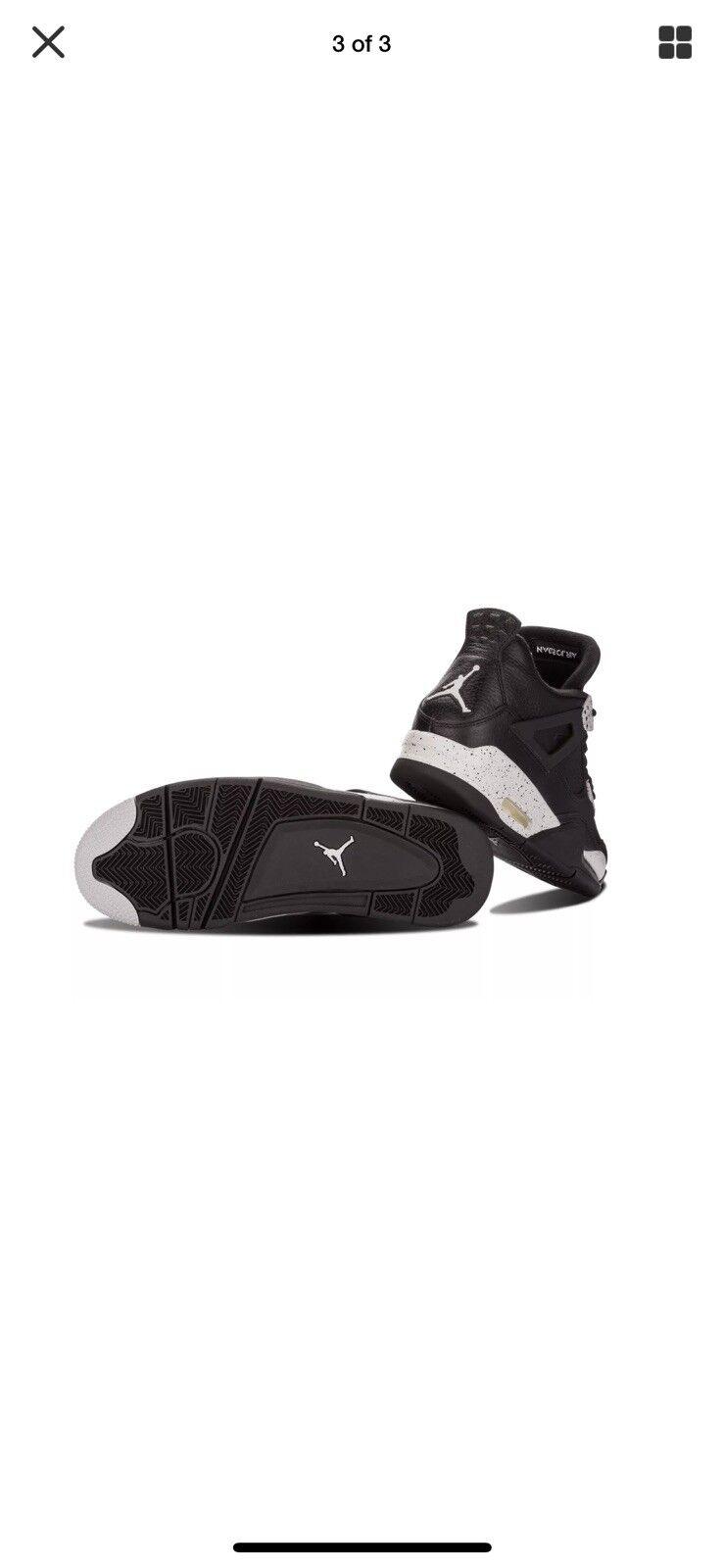 Air Jordan Retro 4 Oreo IV vnds Size 10.5