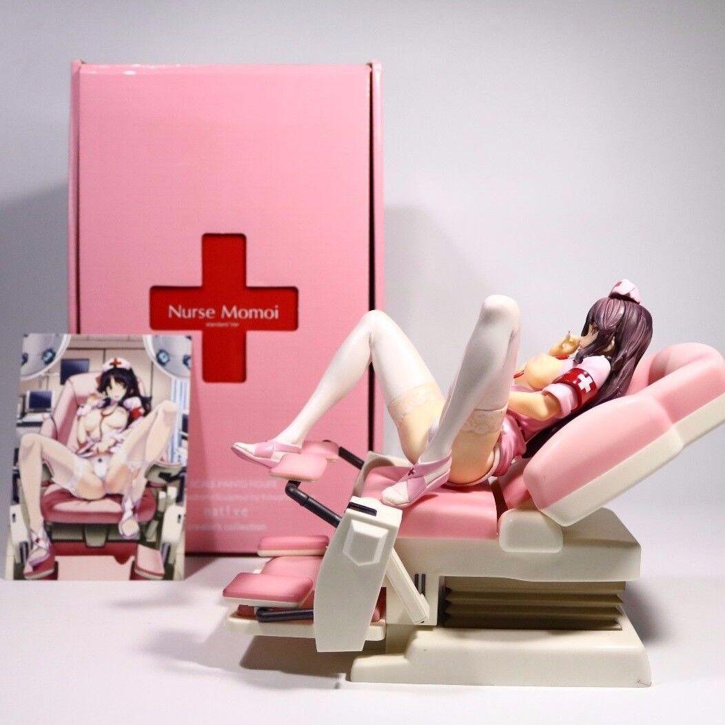 Anime - native schwester momoi, w untersuchungsstuhl sexy kollektion 1   7 pvc figure nib