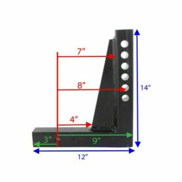 Fastway Trailer 92-02-4315 e2 Specialty Adjustable Shank