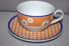 Rosenthal CASUAL Pleasures Saint Tropez KAFFEETASSE mit UNTERTASSE Orange Cup