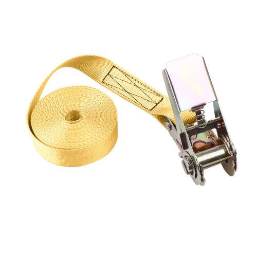 Tension automatique ceinture Sangle d/'arrimage Ceinture à cliquet 1-10M 800Kg