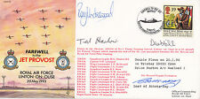 Rare reflown AC74dR Farewell to the Jet Provost.Signed R Underwood Pilot 360 Sqn