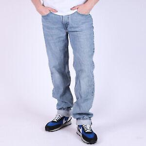 Levi-039-s-514-Straight-leg-hellblau-Herren-Jeans-32-34-W32-L34