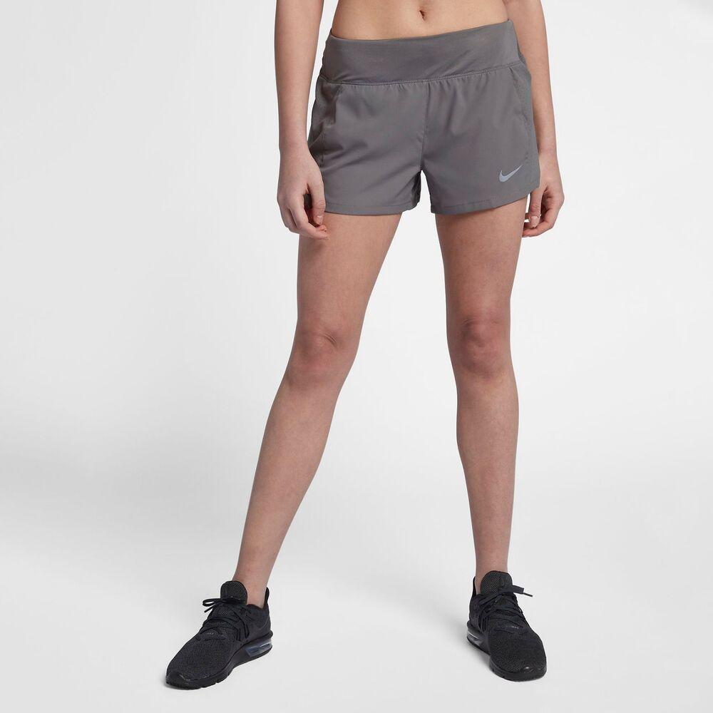 "Nike Eclipse Femmes 3"" Running/gym Shorts Sz: S. Gris Bnwt"