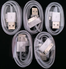 5x Original 30-Pin USB Charge Sync Cable Charger OEM for iPhone 3 3G 4 4s USA