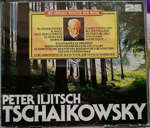 Peter Iljitsch Tschaikowsky - Doppel CD - Die Grossen Meister Der Musik - Schierling, Deutschland - Peter Iljitsch Tschaikowsky - Doppel CD - Die Grossen Meister Der Musik - Schierling, Deutschland