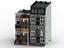 Lego-Custom-2-Modular-Buildings-Ville-Maisons-MOC-instructions-et-liste-de-pieces-uniquement miniature 1