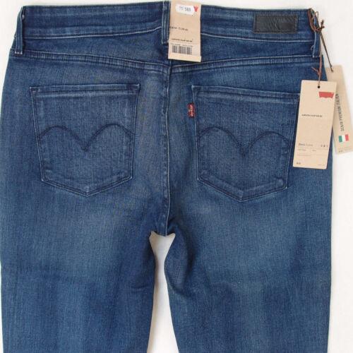 da Demi elasticizzati sottili laccetti con da Blue New donna Jeans donna Curve Wg48SwvIxq