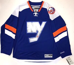 6d299e5cf86 NEW YORK ISLANDERS NHL 2014 STADIUM SERIES REEBOK PREMIER JERSEY NEW ...