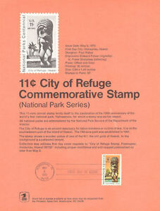 7204-City-of-Refuge-Park-Stamp-C84-Souvenir-Page