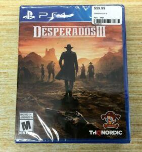 New Desperados Iii 3 Sony Playstation 4 Ps4 Thq Nordic Ps4 Ships Fast 811994021755 Ebay