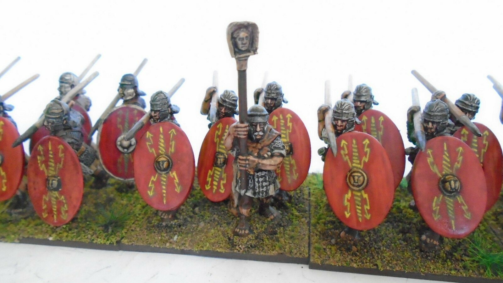 20 28mm Ancient Roman Legionaries by by by Foundry for ADLG Swordpoint WAB DBMM b d7374a