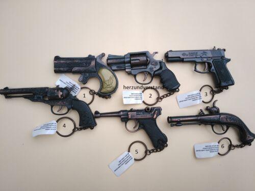 Pistolen Gewehre Schlüsselanhänger