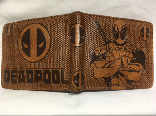 High Quality Deadpool money clip Bifold Men Wallet Credit Card Holder Coin Purse