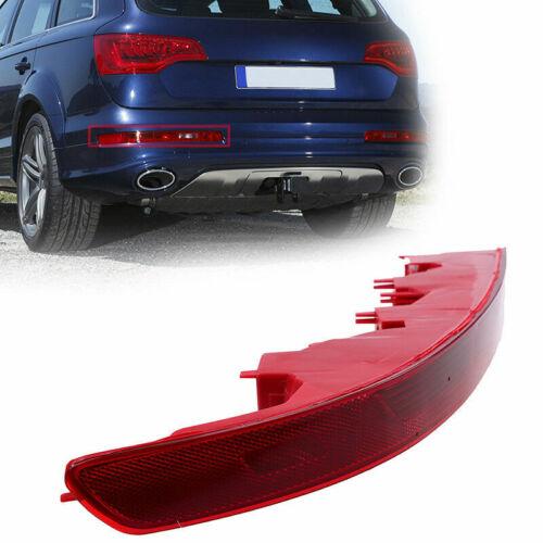 Left Side Housing Red Lens Rear Fog Lamp Rear Bumper Light For Audi Q7 2007-2015