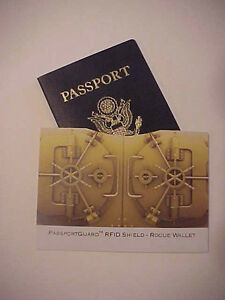 Rogue Passport RFID Protector Sleeve New in Pkg.