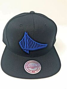 casual shoes uk cheap sale info for NWT Black Golden State Warriors Mitchell and Ness ELEMENTS Vintage ...