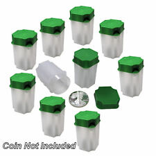 Guardhouse Box of 10 Direct Fit 40.6mm Coin Holders SILVER EAGLES