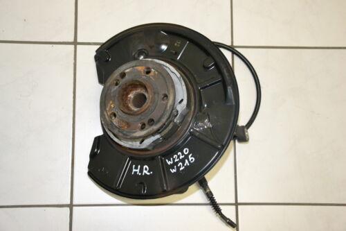 MERCEDES s 600 w220 s55 CL 55 AMG FUSEE moyeu roue arrière droit 2203503041