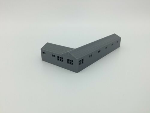 """L Shape /""""Bates Style/"""" Small Town or City MOTEL Z Scale 1:220-3D Made in USA"""